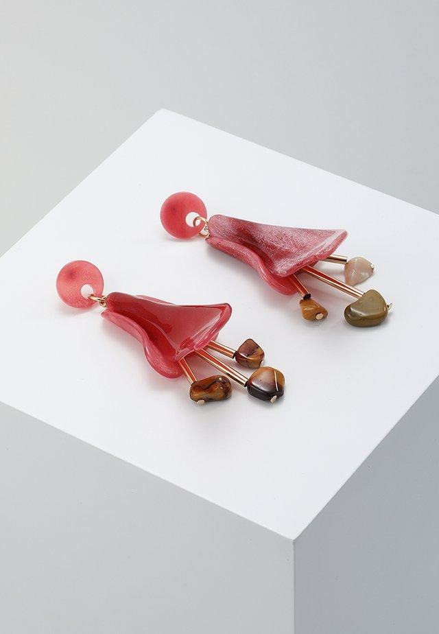 ONLYASMIN EARRINGS - Pendientes - goji berry
