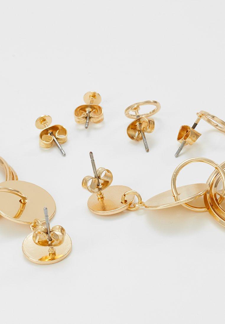 ONLY - EARRINGS 3 PACK - Earrings - gold-coloured