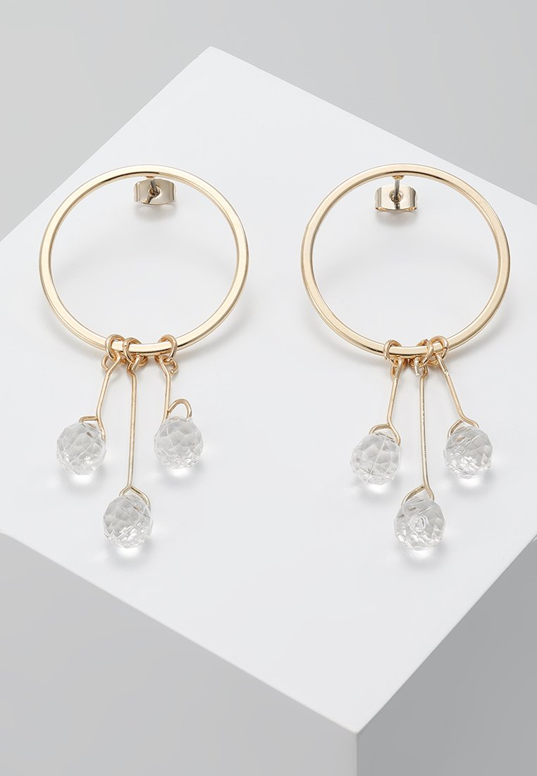 ONLY - ONLDAISY FLOWER EARRINGS  - Earrings - gold-coloured