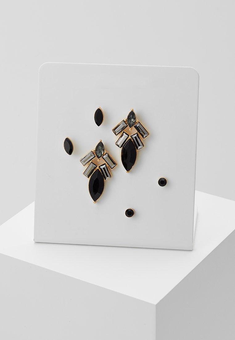 ONLY - ONLEMILIE EARRINGS 3 PACK - Ohrringe - black