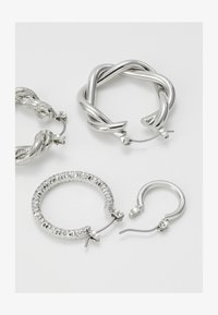 ONLY - ONLCRISTEL CREOLE EARRINGS 5 PACK - Earrings - silver-coloured - 1