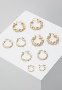 ONLY - ONLCRISTEL CREOLE EARRINGS 5 PACK - Ohrringe - gold-coloured - 0