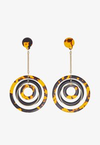 ONLY - ONLRIKA EARRING - Øredobber - gold-coloured/brown - 3