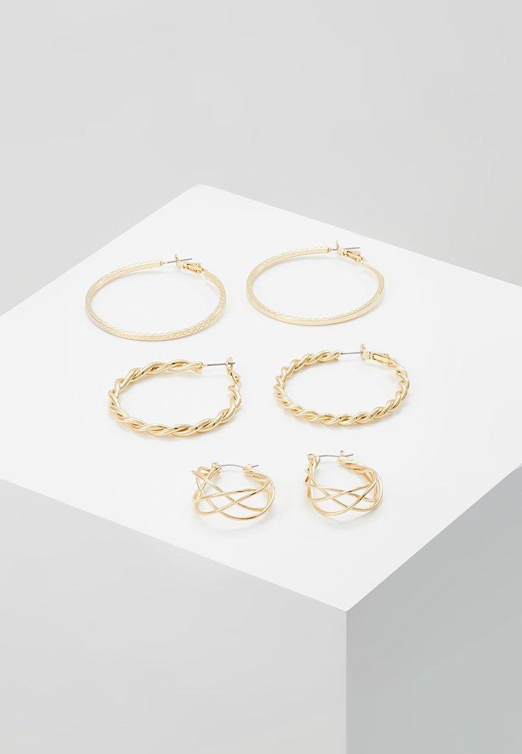 ONLY - ONLCIRINA EARRRING 3 PACK - Korvakorut - gold-coloured