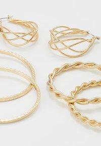 ONLY - ONLCIRINA EARRRING 3 PACK - Øreringe - gold-coloured - 4