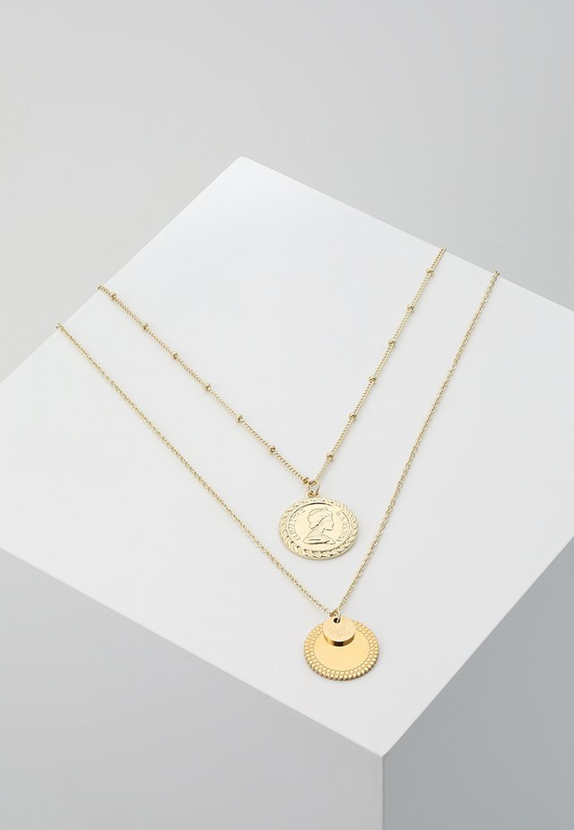 ONLGLORIA NECKLACE 2 PACK - Náhrdelník - gold-coloured
