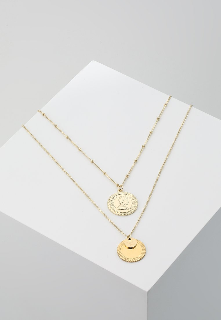 ONLY - ONLGLORIA NECKLACE 2 PACK - Necklace - gold-coloured