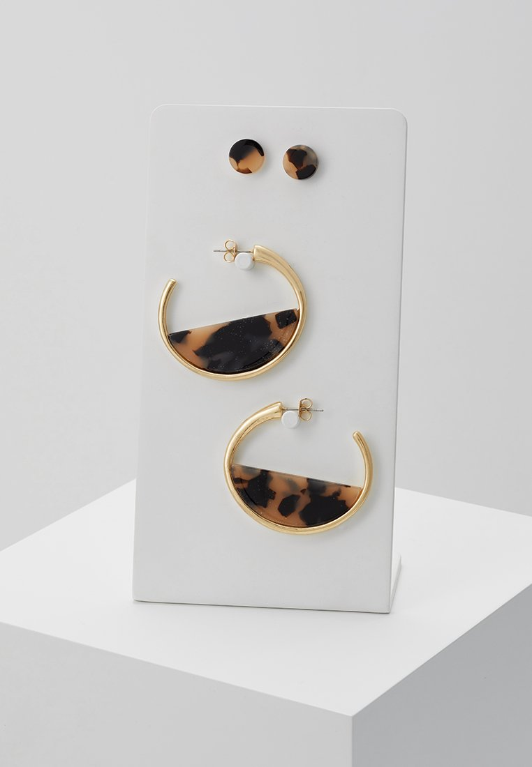 ONLY - ONLJOAN EARRING 2 PACK - Pendientes - gold-coloured