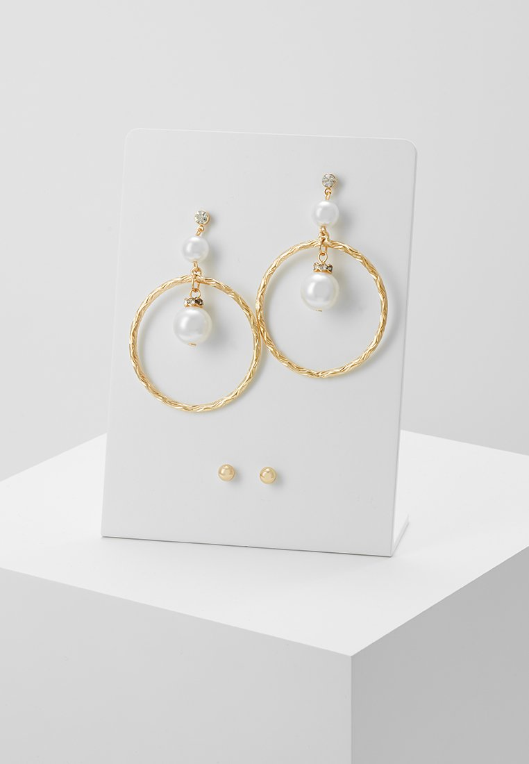 ONLY - ONLBAGGA EARRING 2 PACK - Boucles d'oreilles - gold-coloured