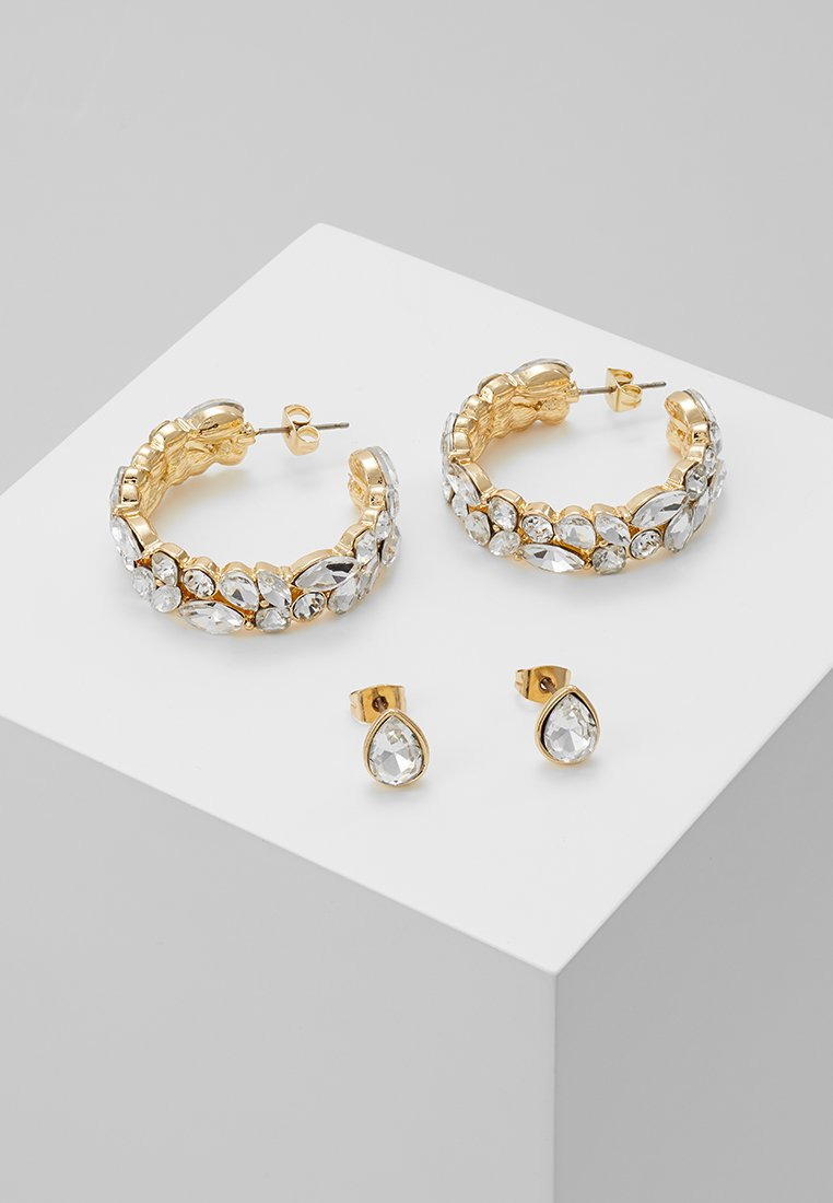 ONLY - ONLBUSTER EARRING 2 PACK - Ohrringe - gold-coloured