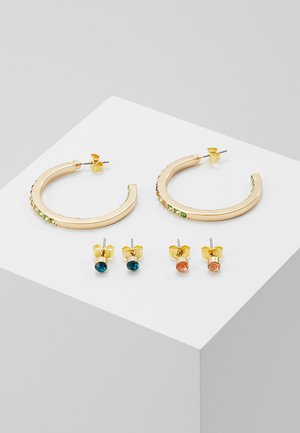 Earrings - gold-coloured/blush