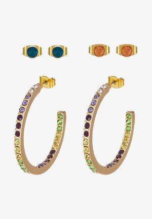 Boucles d'oreilles - gold-coloured/blush