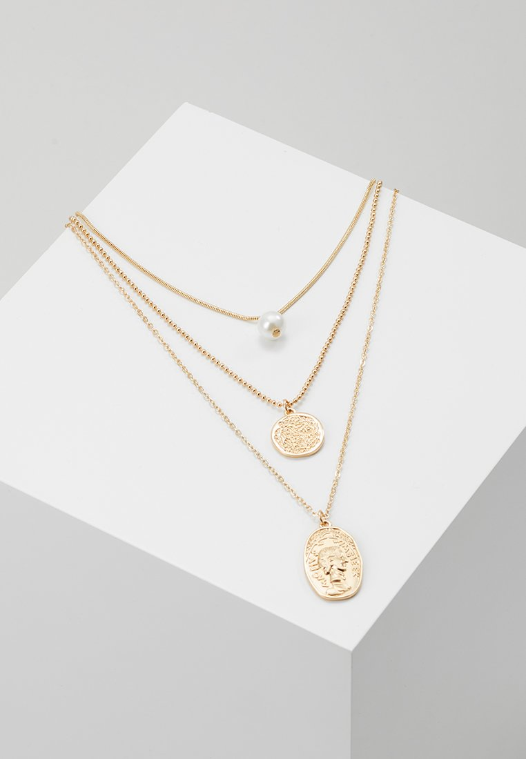 ONLY - ONLCOINT NECKLACE - Halskæder - gold-coloured