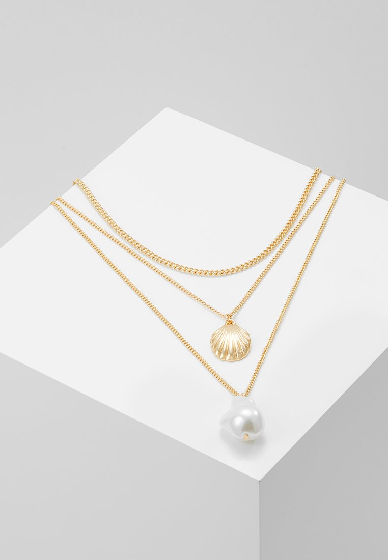 ONLY - ONLCLAM NECKLACE SET - Náhrdelník - gold-coloured