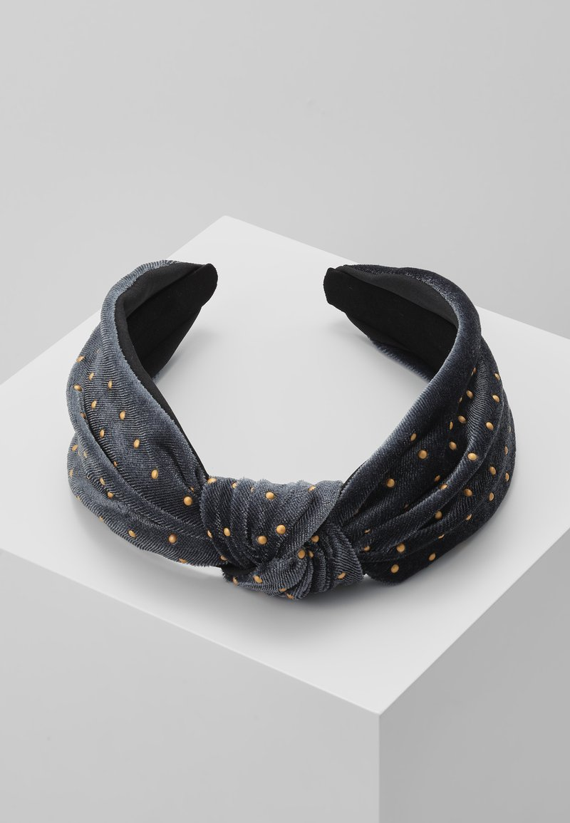 ONLY - ONLJADA HAIRBAND - Haar-Styling-Accessoires - indigo/gold-coloured
