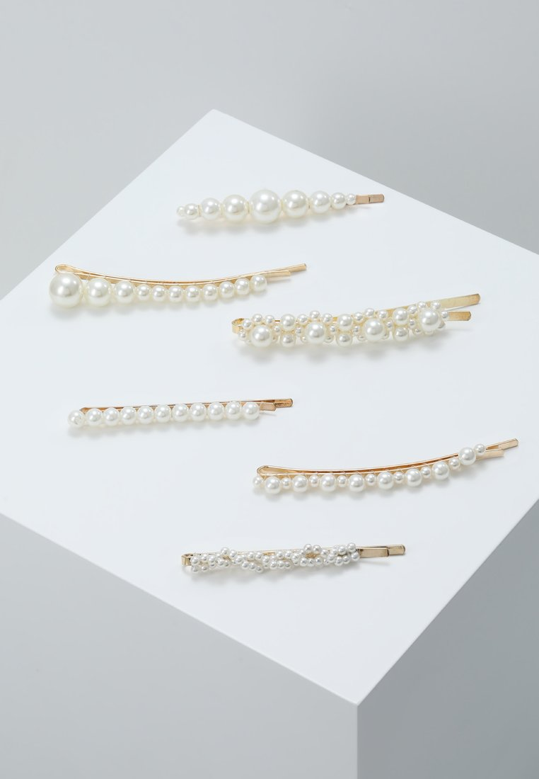 ONLY - ONLNANNA HAIRPIN 6 PACK - Håraccessoar - gold-coloured