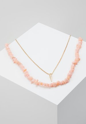 Collier - blush/gold-coloured
