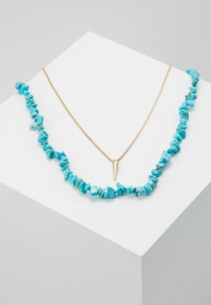 Collana - azure blue/gold-coloured