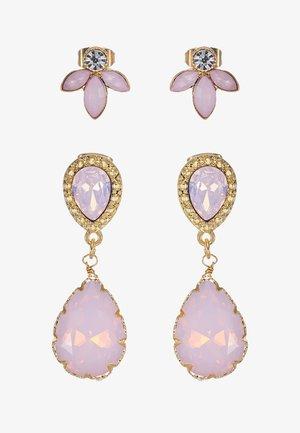 Earrings - blush