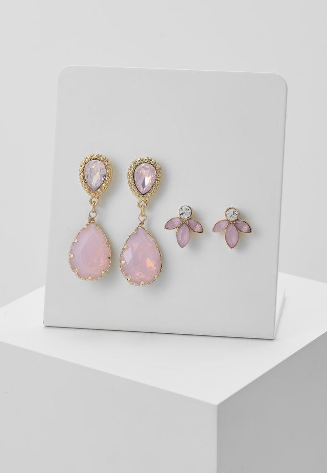 Earrings - blush
