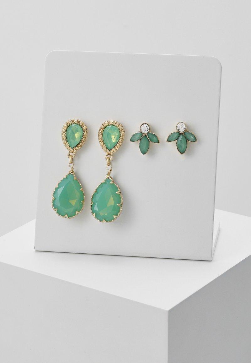 ONLY - ONLFANCY EARRING SET - Earrings - simply green