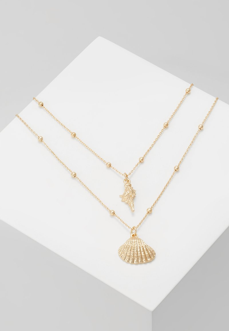 ONLY - ONLLOCEAN NECHLACE 2 PACK - Halskette - gold-coloured
