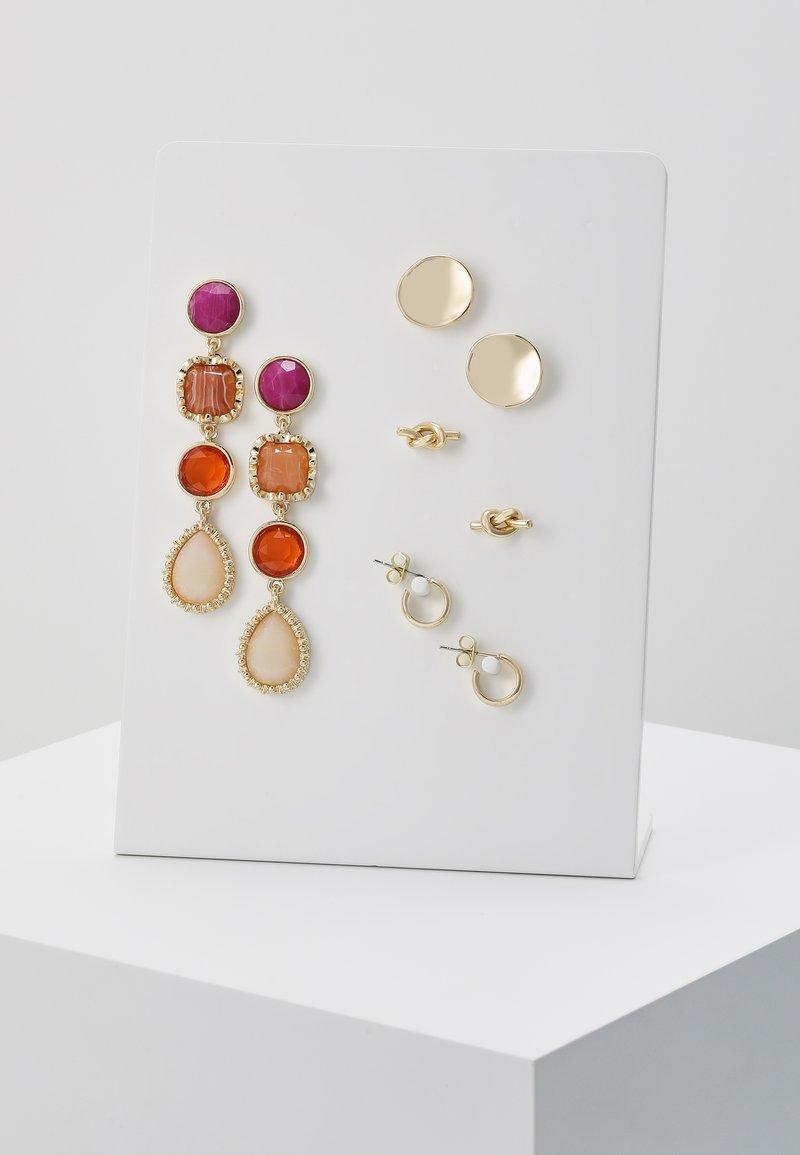 ONLY - Oorbellen - gold-coloured/pink/orange