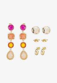 ONLY - Oorbellen - gold-coloured/pink/orange - 2