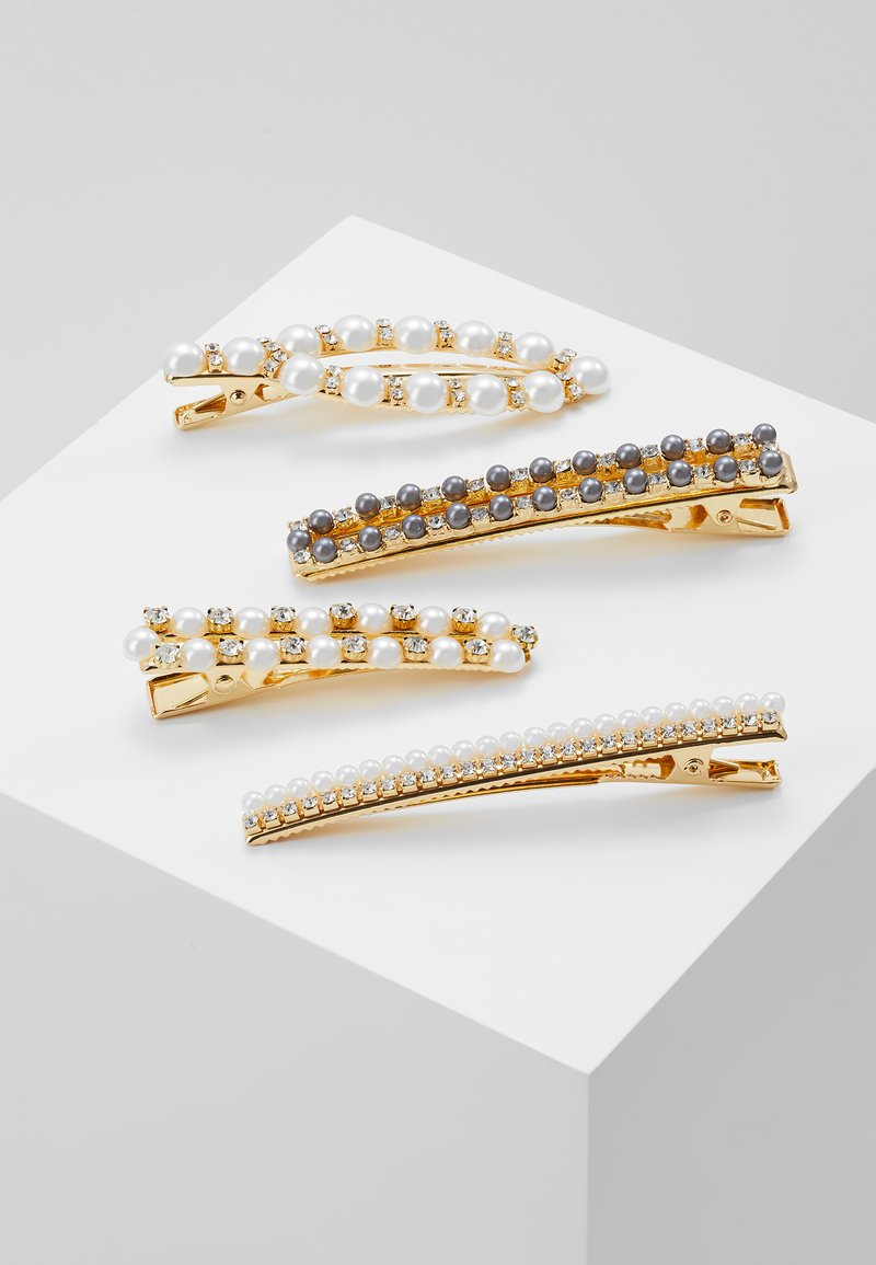 ONLY - ONLSCHNEIDER HAIRPIN 4 PACK - Haar-Styling-Accessoires - gold-coloured