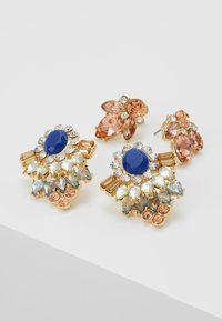 ONLY - Pendientes - gold coloured/blue - 4