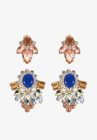 ONLY - Pendientes - gold coloured/blue - 3