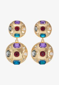 ONLY - Earrings - gold-coloured/blue/red/white - 3