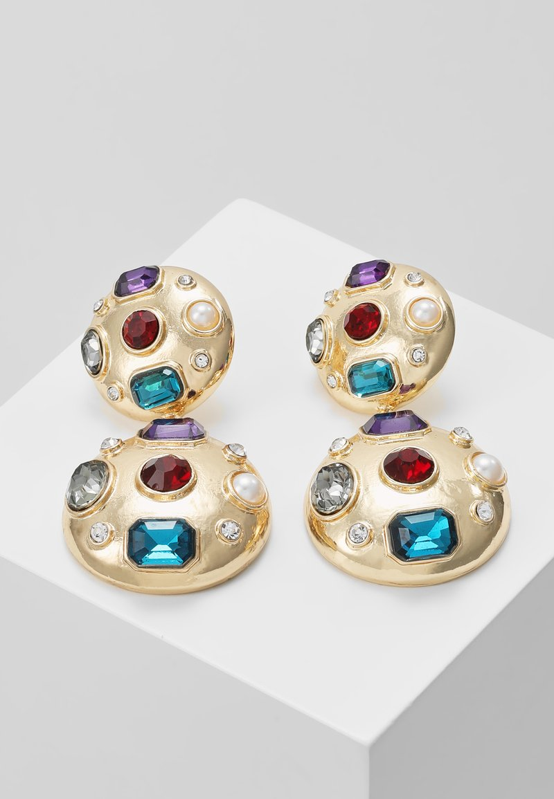ONLY - Oorbellen - gold-coloured/blue/red/white