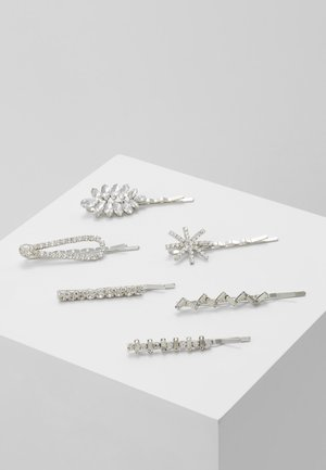 Hair Styling Accessory - silver-coloured