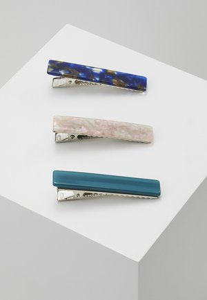 Hair Styling Accessory - silver-coloured/pink/darkblue/turquoise