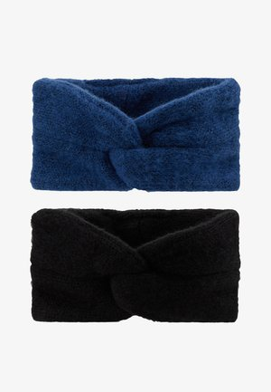 Hair styling accessory - black/navy peony