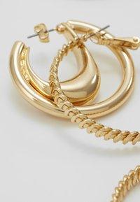 ONLY - ONLKADIA HOOPS 2 PACK  - Korvakorut - gold coloured - 4
