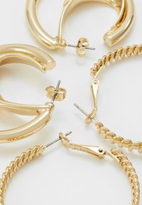 ONLY - ONLKADIA HOOPS 2 PACK  - Øreringe - gold coloured - 2