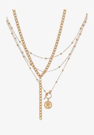 ONLCALLUNA NECKLACE 2 PACK - Collar - gold-coloured