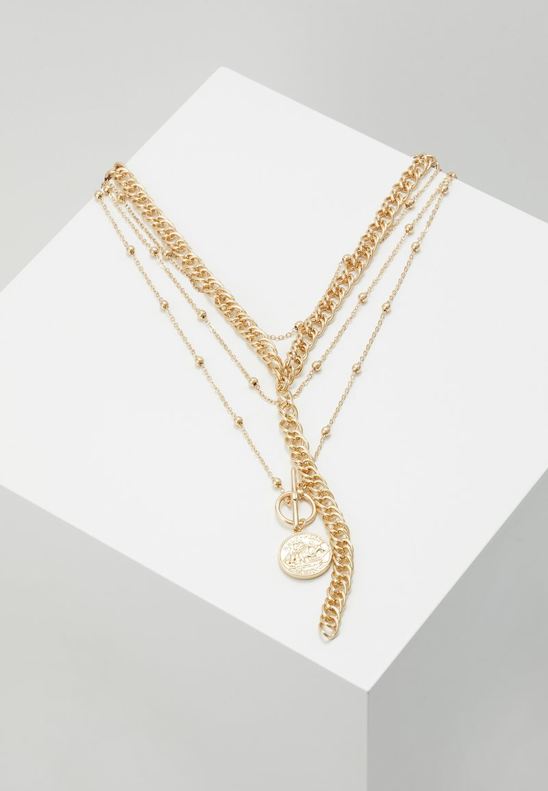 ONLY - ONLCALLUNA NECKLACE 2 PACK - Ketting - gold-coloured