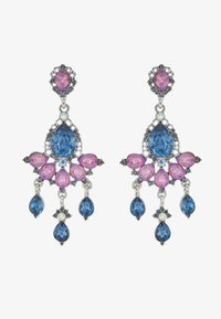 ONLY - ONLEA EARRING - Örhänge - silver-coloured/purple/blue - 3