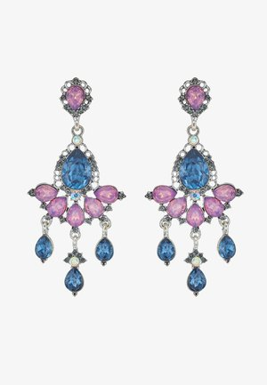 ONLEA EARRING - Øreringe - silver-coloured/purple/blue