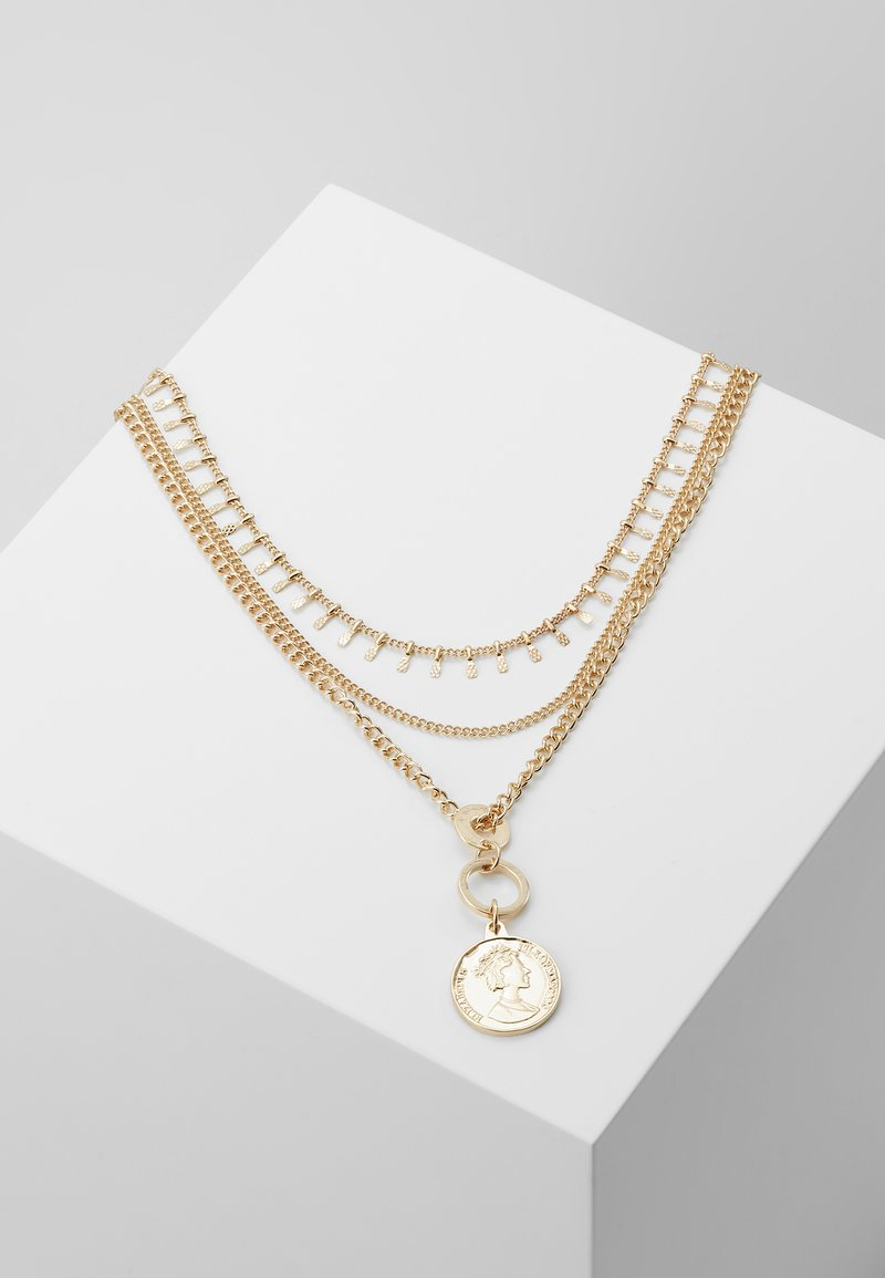 ONLY - ONLELENA NECKLACE - Ketting - gold-coloured