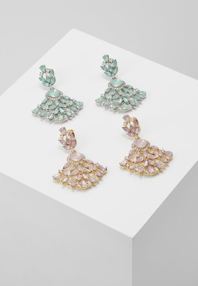 ONLPEYTON 2 PACK EARRING - Boucles d'oreilles - blush/mint