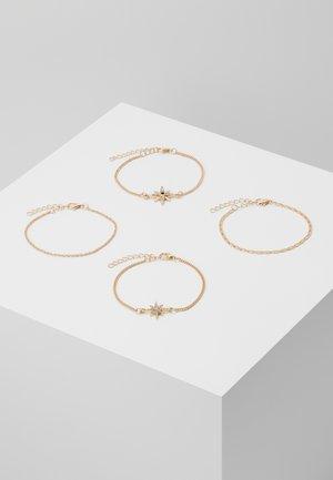 ONLGIANNA 4 PACK BRACELET - Armband - gold-coloured