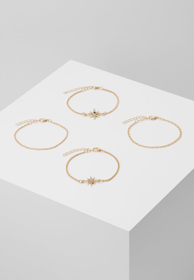 ONLGIANNA 4 PACK BRACELET - Náramek - gold-coloured
