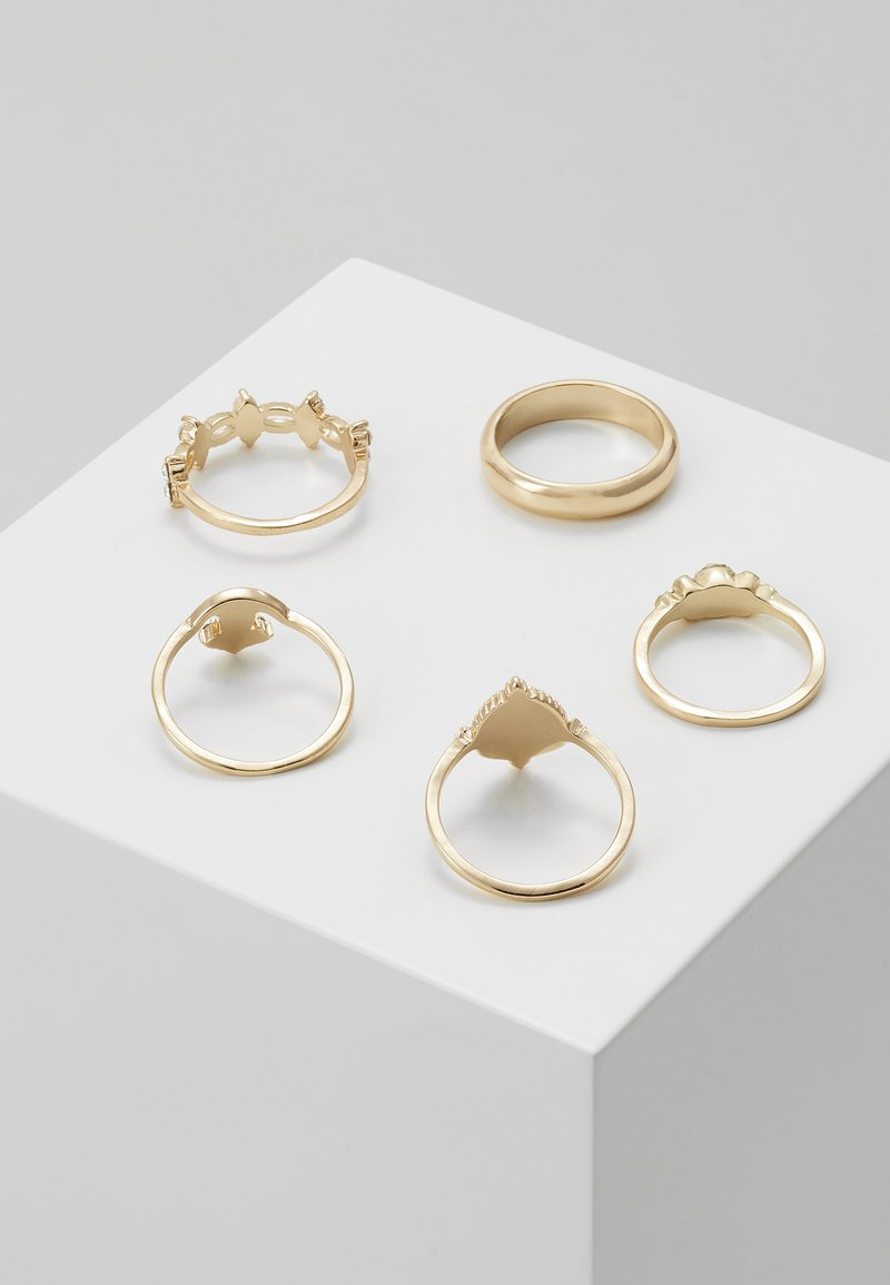 ONLY - ONLARIA 5 PACK - Ring - gold-coloured