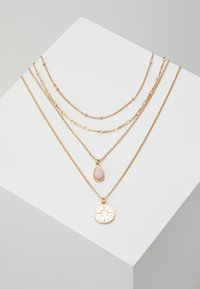ONLY - ONLCAILEY NECKLACE 2-IN-1 - Ketting - gold-coloured/rose - 0