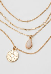 ONLY - ONLCAILEY NECKLACE 2-IN-1 - Ketting - gold-coloured/rose - 4