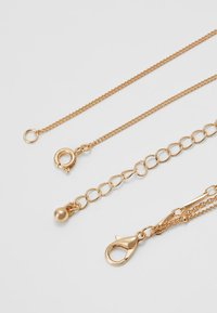 ONLY - ONLCAILEY NECKLACE 2-IN-1 - Ketting - gold-coloured/rose - 2